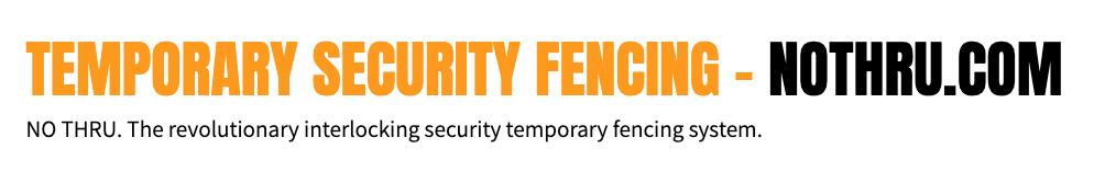 Temporary Fencing Logo - Nothru.com